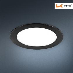 Bild des LED Einbaustrahlers Savannah II schwarz
