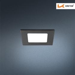Bild des LED Einbaustrahlers Thalina I Schwarz