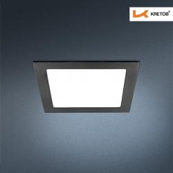 Bild des LED Einbaustrahlers Thalina II Schwarz