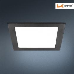 Bild des LED Einbaustrahlers Thalina III Schwarz