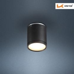 Bild des LED Aufbaustrahlers Tondo I Schwarz