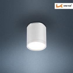 Bild des LED Aufbaustrahlers Tondo I Weiß