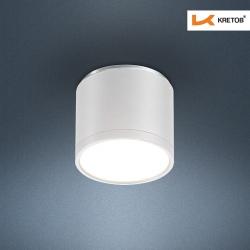 Bild des LED Aufbaustrahlers Tondo II Weiß