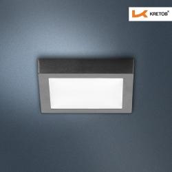 Bild des LED Aufbaustrahlers Magno I Schwarz
