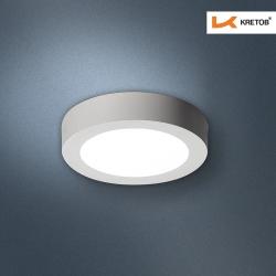 Bild des LED Aufbaustrahlers Bara I Weiß