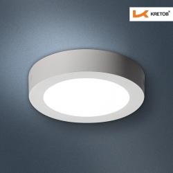 Bild des LED Aufbaustrahlers Bara II Weiß