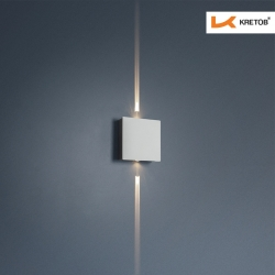 Bild der LED Wandleuchte Advena beleuchtet