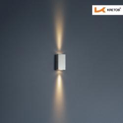 Bild der LED Wandleuchte Tano beleuchtet