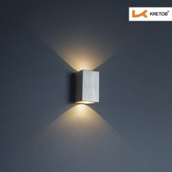 Bild der LED Wandleuchte Jolina beleuchtet