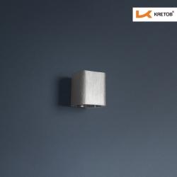 Bild der LED Wandleuchte Aroa Silber