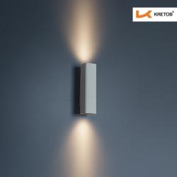 Bild der LED Wandleuchte Aroa Grande beleuchtet