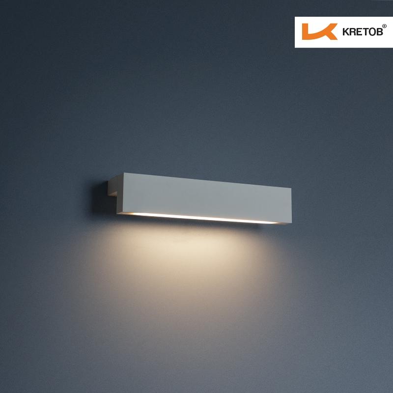 Bild der LED Wandleuchte Phenomus beleuchtet