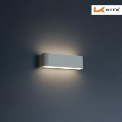 Bild der LED Wandleuchte Tamo I Weiß beleuchtet