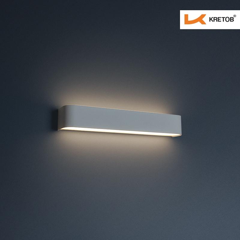 Bild der LED Wandleuchte Tamo II Weiß beleuchtet