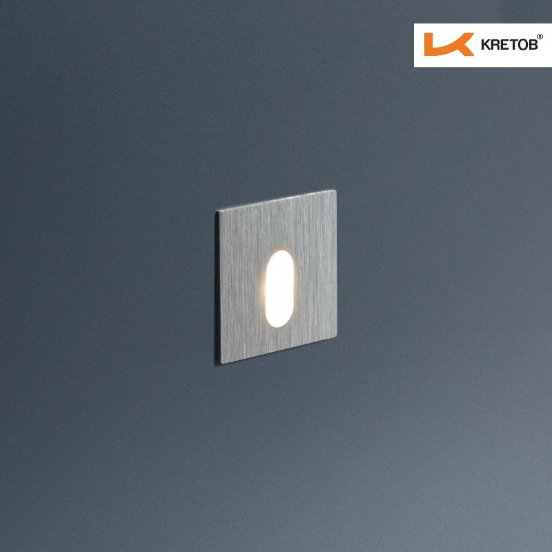 Bild der LED Wandleuchte Timea Edge beleuchtet