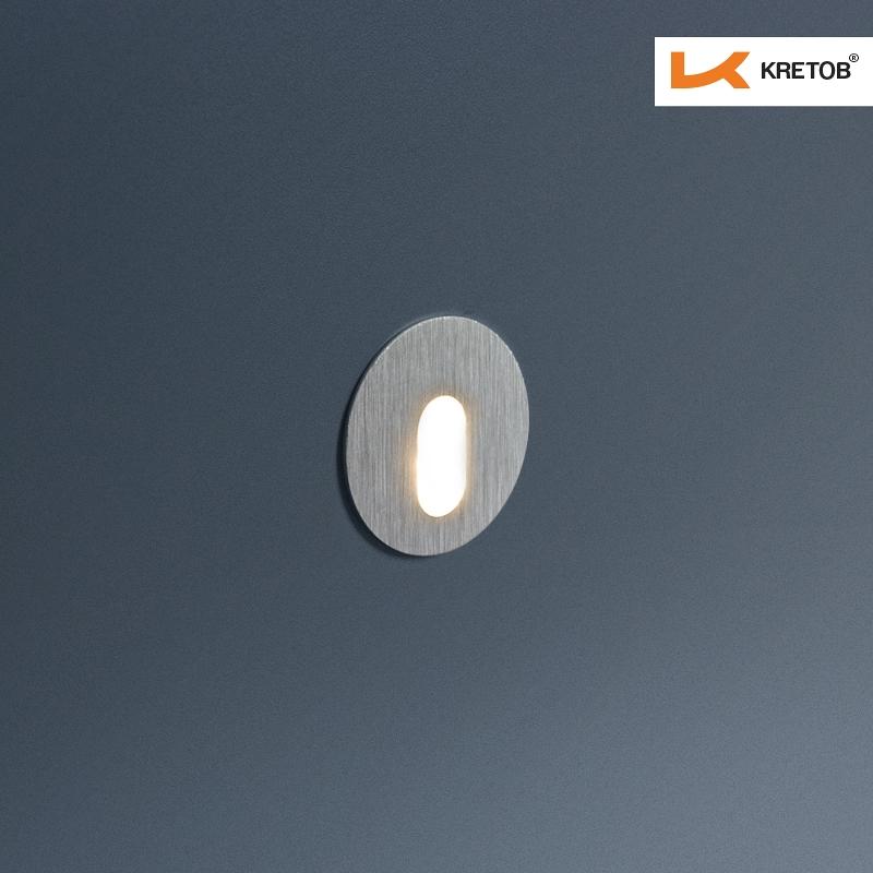Bild der LED Wandleuchte Timea Globe beleuchtet