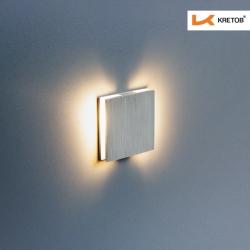 Bild der LED Wandleuchte Pegassi beleuchtet