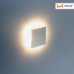 Bild der LED Wandleuchte LaVita Edge beleuchtet