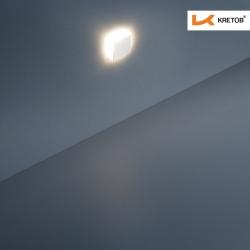 Bild der LED Wandleuchte LaVita Edge beleuchtet aus der Ferne
