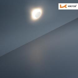 Bild der LED Wandleuchte LaVita Globe beleuchtet aus der Ferne