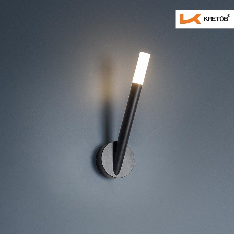 Bild der LED Wandleuchte Madera beleuchtet