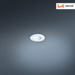Bild des LED Einbaustrahlers Satura Ida in Weiß