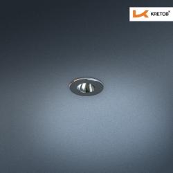 Bild des LED Einbaustrahlers Satura Ida in Chrom