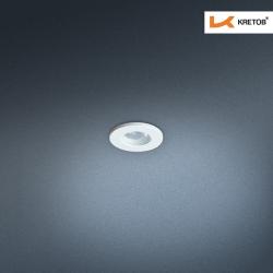 Bild des LED Einbaustrahlers Satura Kan in Weiss