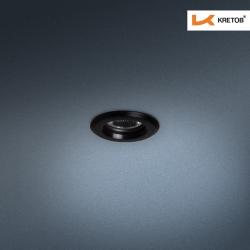 Bild des LED Einbaustrahlers Satura Grande in Schwarz