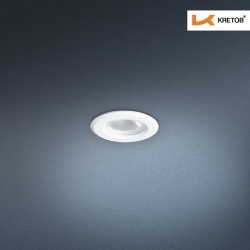 Bild des LED Einbaustrahlers Satura Grande in Weiss