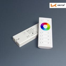 "KRETOB  ""KR-Controller"" 12-24V 1009-Serie Funk RGBW KIT"