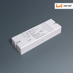 "KRETOB  ""KR-Controller"" 4x8A 12-36V  KR-1009-Serie RF Funk Hochleistungsdimmer"